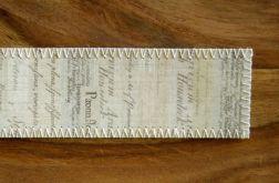 ZAKŁADKA stary papier listowy