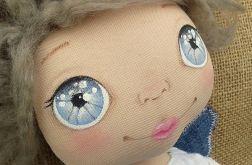 ANIOŁEK lalka - dekoracja tekstylna, OOAK /03