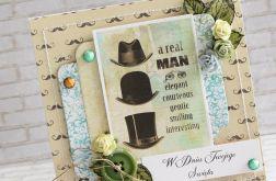 Kartka dla prawdziwego mężczyzny