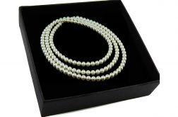 Naszyjnik perły białe Swarovski