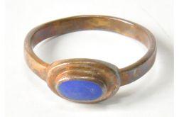 79 stary pierścionek z mosiądzu;
