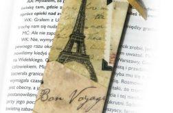 Zakładka - Paryż, vintage, retro