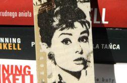 Zakładka z aktorką - Audrey Hepburn