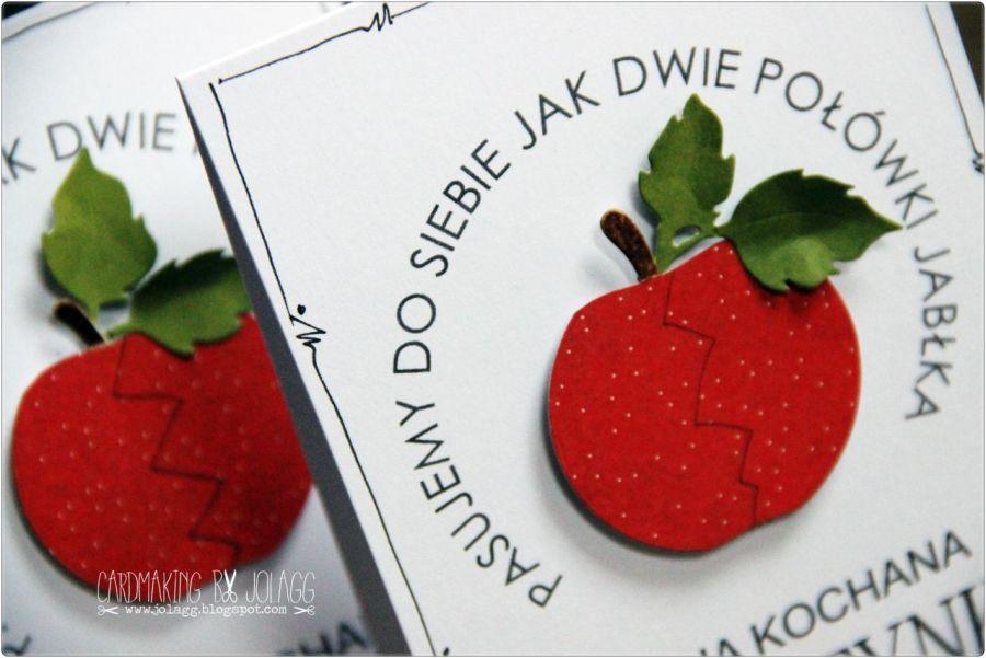 Walentynka jabłko