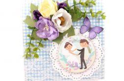 kartka ślubna #021