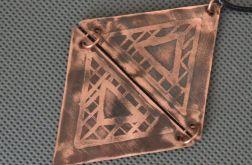 Trójkąty ze wzorem celtyckim