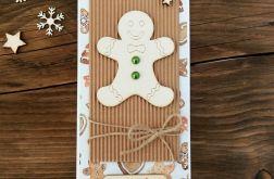 Kartka świąteczna z ciastkiem #36