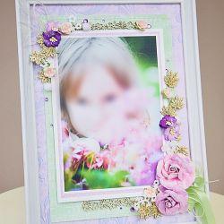 Ramka na zdjęcie - prezent dla babci