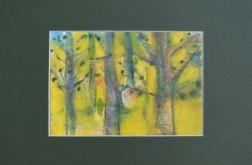 Maj, akwarela obraz malowany ręcznie