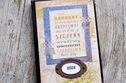 Kalendarz książkowy A5 układ dzienny v9