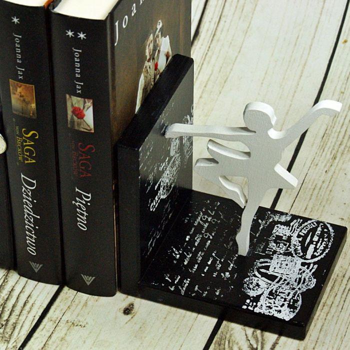 Podpórki do książek - balet.