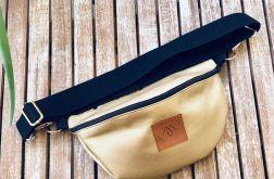 Nerka Mili Belt Bag L - złota