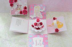 Exploding box roczek różowy