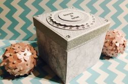 Exploding box, 10x10, Ślub, dla p. Ewy