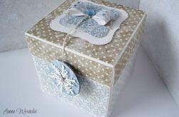 Świąteczny Exploding Box z saniami