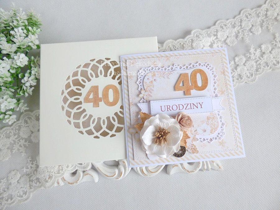 Kartka urodzinowa w pudełku 86