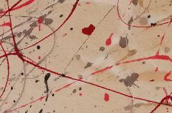 Miłość w powietrzu - abstrakcja zakochanych