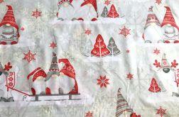 Tkanina bawełna - świąteczny skrzat