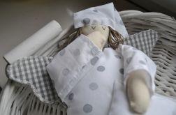 Zabawka tekstylna - Anioł Bartoszek eteryczny