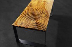 Stolik kawowy z wzorem kroplii wody