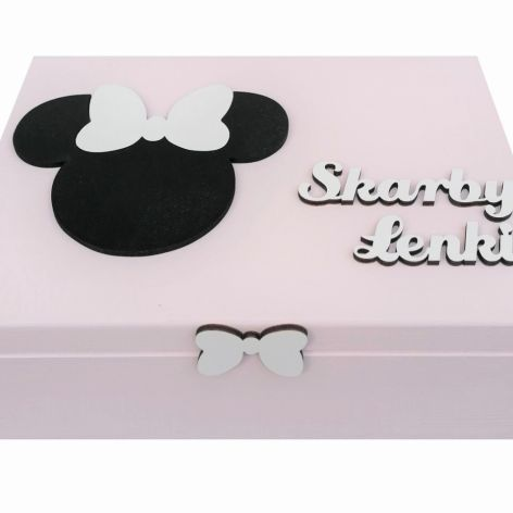 Pudełko bez przegródek- Myszka Minnie - Mm07