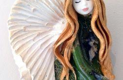 Anioł ceramiczny wiszący