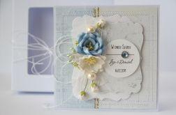 Kartka ślubna z personalizacją + pudełko 2