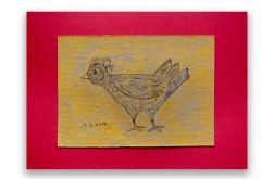 Ptaszek 19 - rysunek dekoracyjny do pokoju