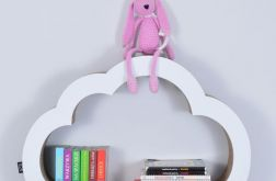 Półka na książki zabawki CHMURKA | biały