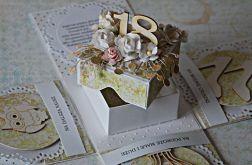Exploding Box- pudełko z okazji 18 urodzin