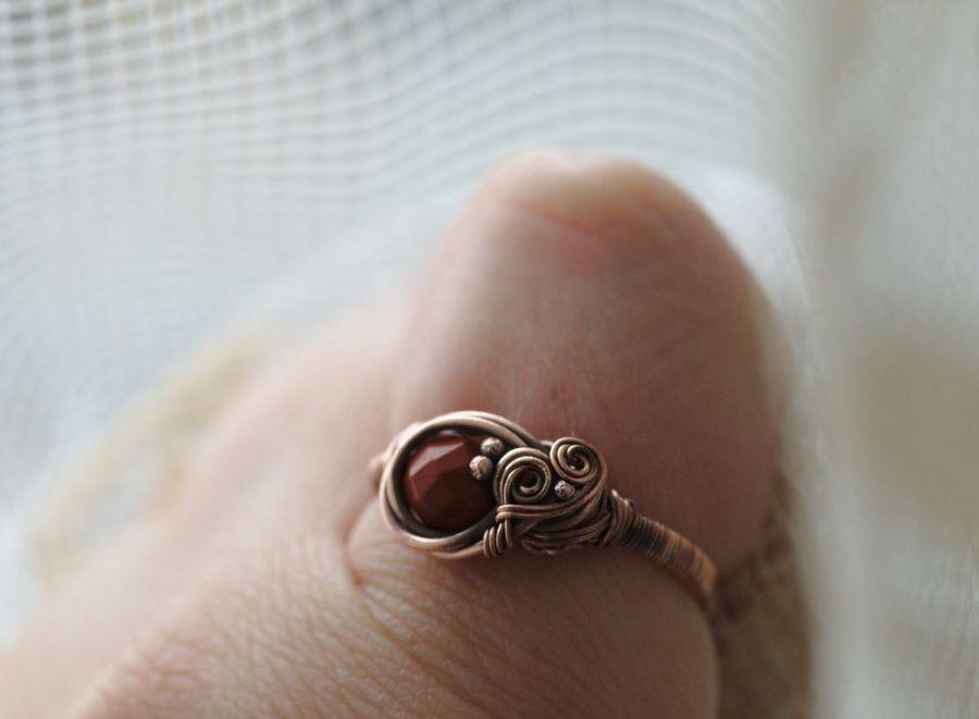Margette - pierścień z kalcytem
