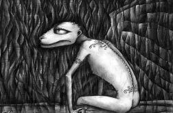 Smok - oryginalny rysunek 0603