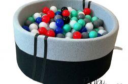 Piankowy basen BabyBall z piłeczkami