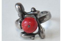 autorski pierścionek z koralowcem (5)