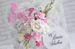 Bukiet ślubnych kwiatów