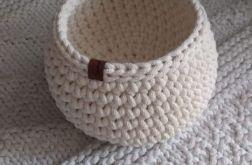 Koszyk ze sznurka baryłka