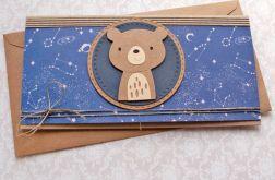 miś Kosmiczny : kartka kopertówka