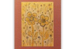 Kwiaty 2 - rysunek dekoracyjny
