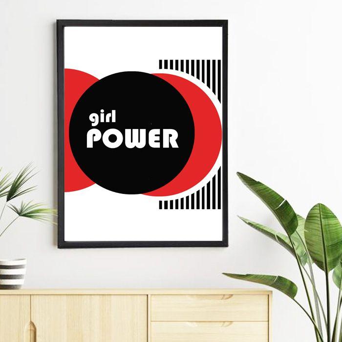 Plakat Girl Power -