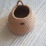 Koszyk ze sznurka