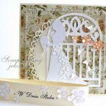 Panna Młoda - kartka ślubna