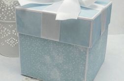 Pamiątkowe pudełko na Chrzest Św 3