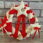 Wianki szyte Bożonarodzeniowe