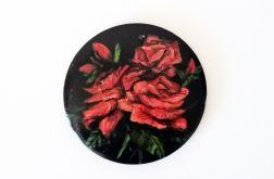Ręcznie malowany wisior Różany