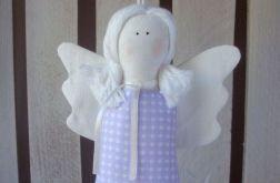 Aniołek - zawieszka lawendowy