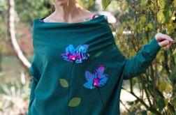 Bluzka oversize MAŁY POWIEW zielona