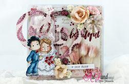 Kartka ślubna - Tilda & Edwin 2
