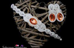 Komplet ślubny biżuteria sutasz ślubna