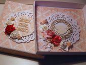 Kartka w pudełku na Chrzest Święty #4