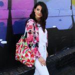 duża torba damska w arbuzy - torba damska